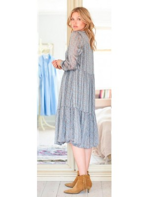 Lollys Laundry - Naja Dress - Dusty Blue