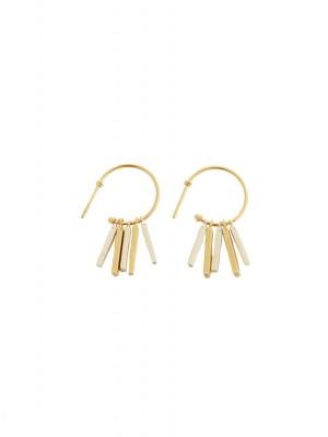 Fauve øreringe - guld