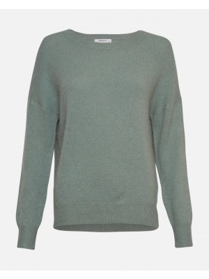 Femme Mohair O Pullover - Chinois green
