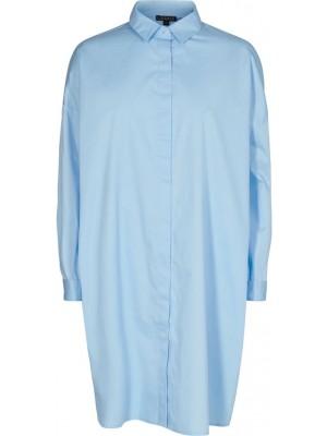 LIBERTÈ - Susan LS Shirt - Lyseblå - hvid