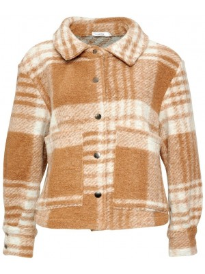 Noella - Viksa Jacket Short - Camel Checks