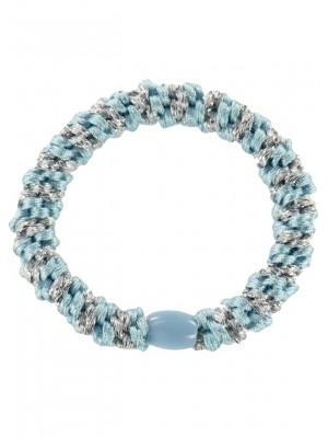 Kknekki Light Blue-Silver stripe