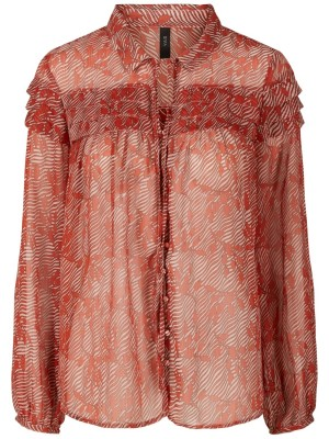 YASHOLIA TOP - Quartz Pink/Holia Print