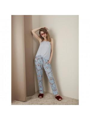 Pants - lyseblå