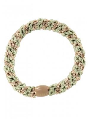 KKnekki Lind Green-Beige glitter stripe