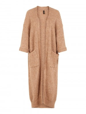 YASSUNDAY LONG STRIK CARDIGAN