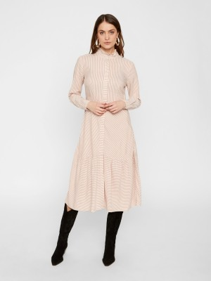 YASSANNE LS SHIRT DRESS - ICONS