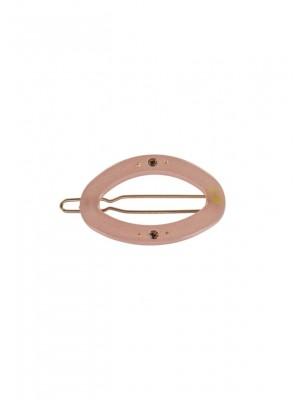 Circle clip 4cm Pink