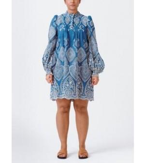 TEPIC DRESS, BLUE