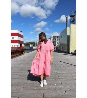 VALLIE DRESS - ROSE