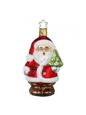 Julemand med juletræ.