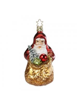 Julemand med sæk.