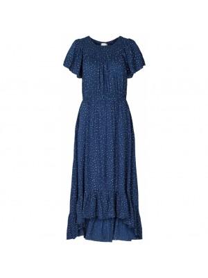 Lollys Laundry - Flora Dress - 76 Dot Print