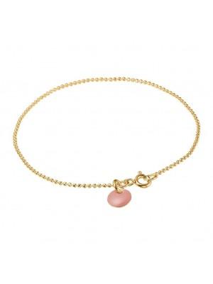 Bracelet, Ball Chain - old rose