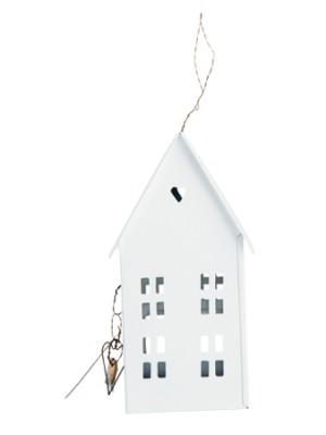 House, white 17,5 cm