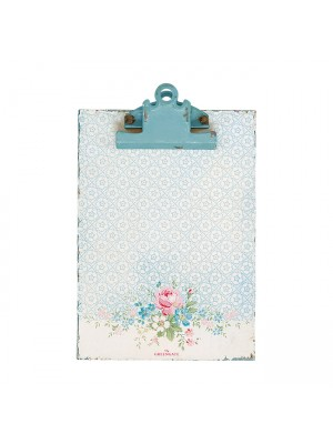 GreenGate clipboard Marie pale blue