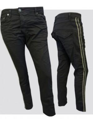 Please Jeans - Fine Flap stripe Sid