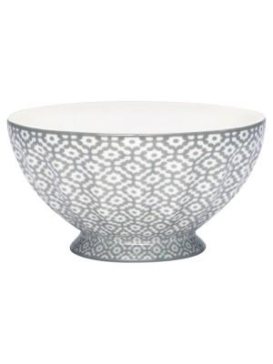 French bowl medium Jasmina warm grey