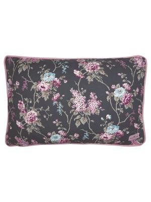 Cushion Maude dark grey 30x50cm