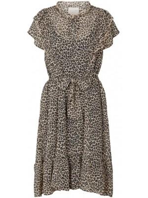 Anemone Dress - Leopard Print