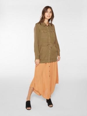 Økologisk bomulds jakke.