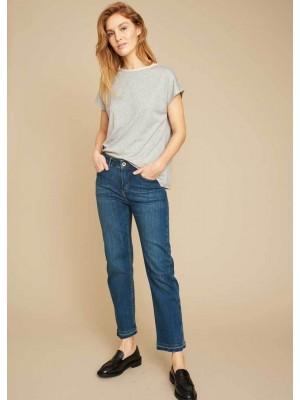 Echte Moon Cropped Jeans - Svanemærket