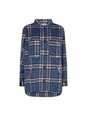 Liberté - Karen Long Jacket - Navy Check