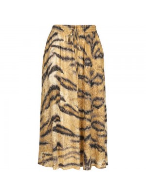 Camel Hofmann Belle skirt - tiger