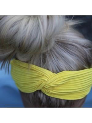 Pli hårbøjle - Yellow