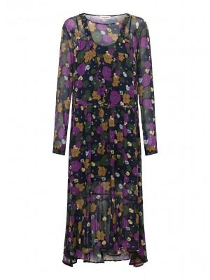 Custommade Kjole - Cammi Dress, Anthracie Black