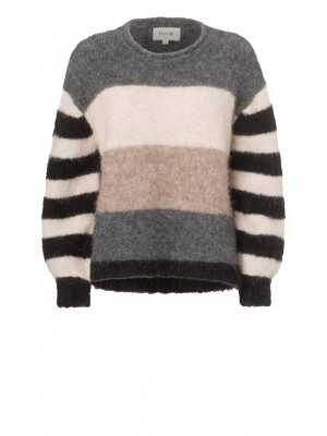 NICCO STRIPED PULLOVER