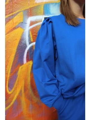 Penny LS Crewneck - Classic Blue