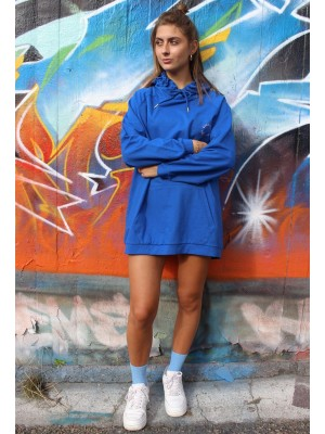Penny Oversize Hoodie - Classic Blue