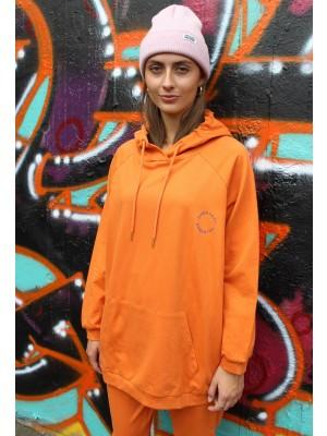 Penny Oversize Hoodie - Orange