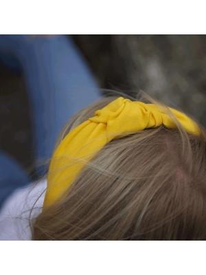 Nadia Yellow hårbøjle