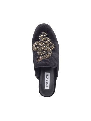 STEVE MADDEN HUGH LOAFER VELVET SORT