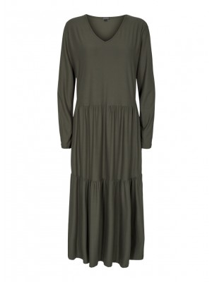 LIBERTÈ - Alma Loose Dress - Olive