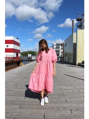 VALLIE DRESS - ROSE