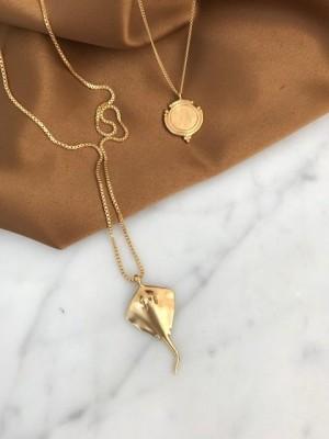 Rokke halskæde - guld