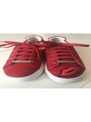 KISSME SNEAKER RED