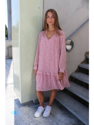 SHIRLEY-DRESS - ROSE