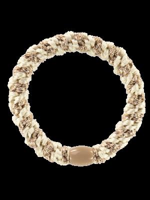 Kknekki Ivory-Beige glitter stripe