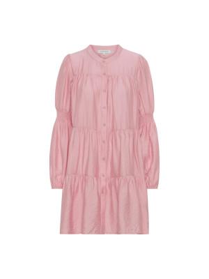 Continue Kjole - Sanna Dress Solid bubbelgum