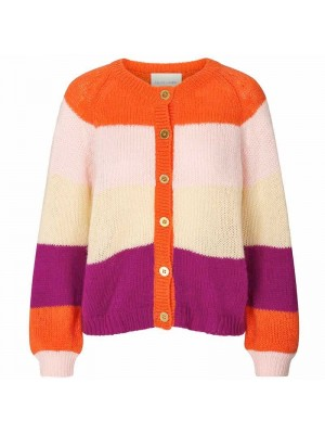 Lollys Laundry Cardigan, Nova, Orange