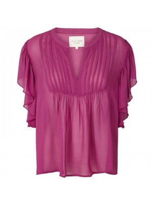 LOLLYS LAUNDRY ISABEL TOP LILAC