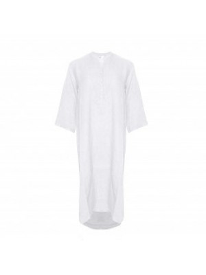 Tiffany Skjortekjole 18970 X Hvid
