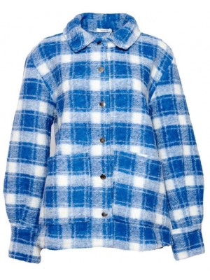 Noella - Viksa Jacket - Blue/White Check