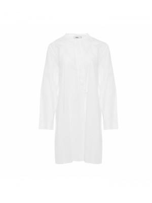 Tiffany Bomuldsskjorte Ella Hvid