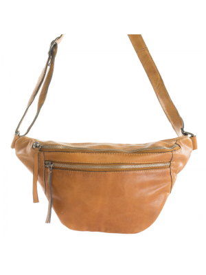 RE:DESIGNED FAUST BUMBAG SMALL - Burned tan