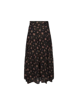 Sofie Schnoor - Solvej Skirt - Flower Black